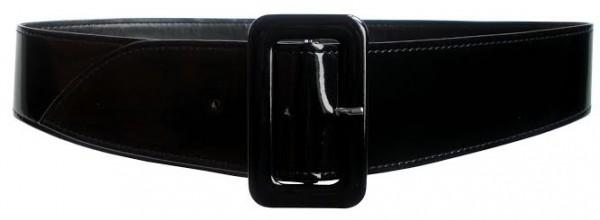 86c3e00979b ceinture vernie noire