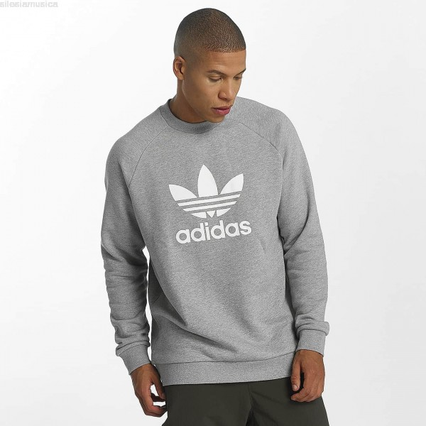 sweat adidas homme gris