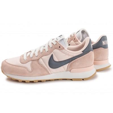 nike internationalist femme / grise,achat / femme vente chaussures baskets 5bfcba