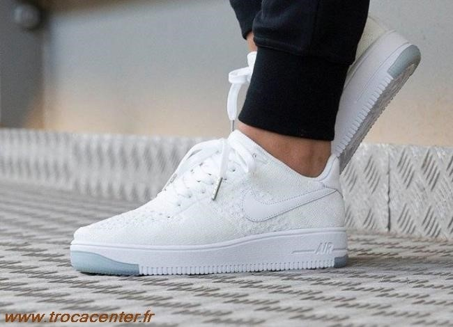 Air Force Nike Homme Air Force 1 Flyknit Noir Et Gris Nike
