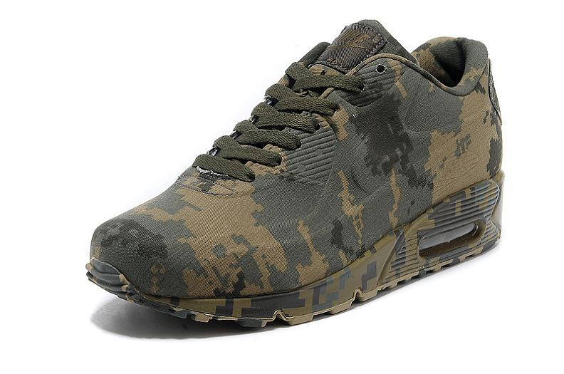 nike air max 90 vt camouflage army green yellow